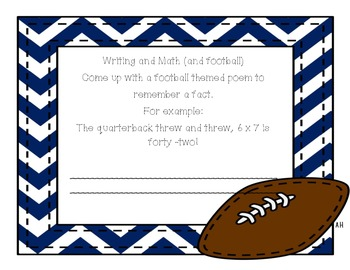 Are you ready for some football multiplication!