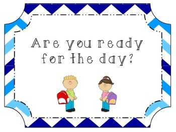 Are you ready for the day? Posters