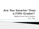 Are you smarter than a 5th grader??