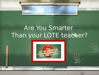 Are you smarter than your foreign language teacher?