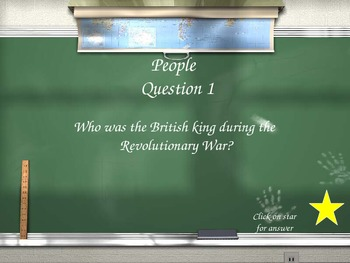 Are you smarter then a 5th grader revolutionary game