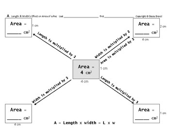 Area 06: Calculating Area Rect + Length & Width's Effect on Area of a Rectangle