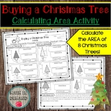 Calculating Area of a Christmas Tree (Area of a Triangle and Rectangle)
