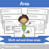 Area - Work out and draw areas