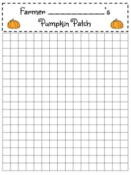 Area & 2-by-1-Digit Multiplication Pumpkin Patch Exploration!