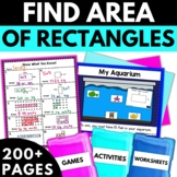 Area - Area Activities Worksheets Games