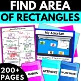 Area Worksheets Games Activities