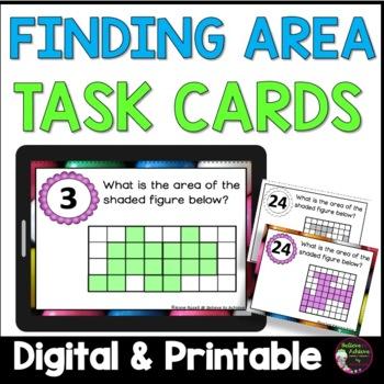 Geometry- Area Task Cards