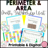 Area and Perimeter Worksheets | Activities | Lessons | Guided Math Workshop