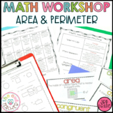Area and Perimeter Worksheets | Activities | Lessons | Gui