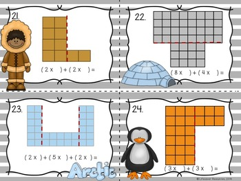 Area Games -  Differentiated Bundle - Math Centers