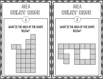 Area Activity Relay Race Game