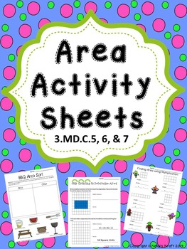 Area Activity Sheets