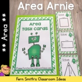 Area Arnie - Finding Area Task Cards and Printables
