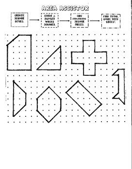 Area Assister - Math Tool