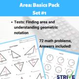 Area Basics Practice Pack 1