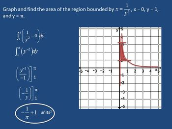 Area Between 2 Curves wrt x-axis & y-axis (PP)