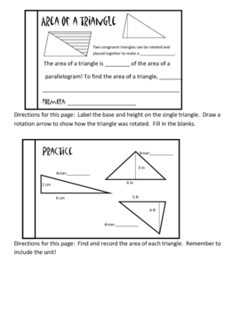 Area Booklet