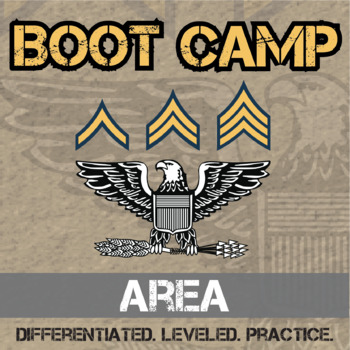 Area Boot Camp -- Differentiated Practice Assignments