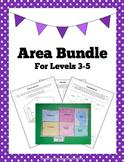 Area Bundle: Worksheets & Activities