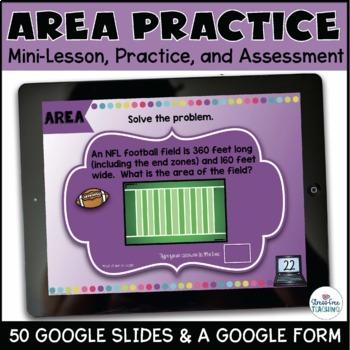 Area for Google Classroom