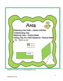 Area-- Center Activities, Printables