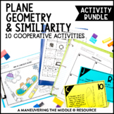 Area, Circumference, and Scale Drawings Activity Bundle