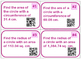 Circle Area & Circumference Task Cards