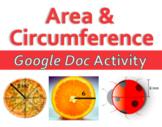 Area & Circumference - Google Doc Activity