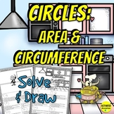 Circumference & Area of Circles Color by Answer