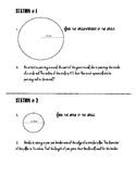 Area & Circumference of Circles BUNDLE