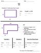 Area Common Core Worksheet: Irregular Shapes: Grade 3-5