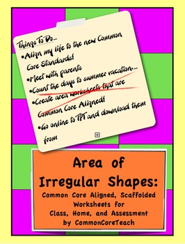 Area common core worksheet irregular shapes grade 3 5 by area common core worksheet irregular shapes grade 3 5 ibookread