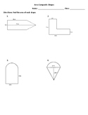 Area Composite Shapes
