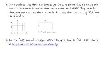 Area- Decomposing Complex Figures (3 lessons) Common Core
