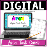 Area Digital Task Cards for Google Slides