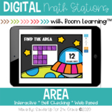 Area Digital Task Cards | Boom Cards™ | Distance Learning
