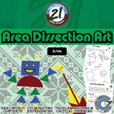 Area Dissection Art -- Integrated Art & Geometry Project