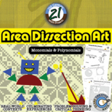 Area Dissection Art: Polynomials -- Algebra & Art - 21st Century Math Project