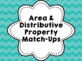 Area & Distributive Property Match-Ups