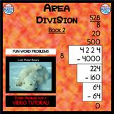 Area Division - Book 2 (ie: 4,224 ÷ 8 = 528)