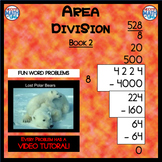 Area Division - Book 2 (ie: 4,224 ÷ 8 = 528) (Distance Learning)