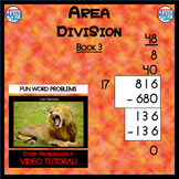 Area Division - Book 3 (ie: 738 ÷ 82 = 9)