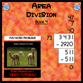 Area Division - Book 4 (ie: 2,952 ÷ 82 = 36) (Distance Learning)