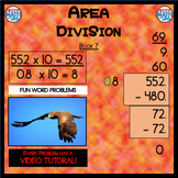 Area Division - Book 7 (ie: 35 ÷ 0.8 = 43.75) (Distance Learning)