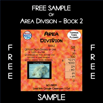Free Sample of Area Division - Book 2