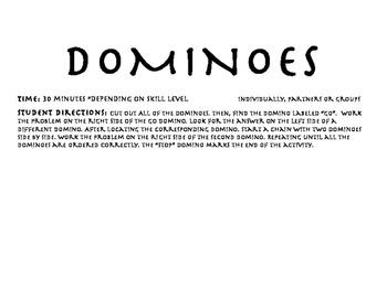 Area Dominoes