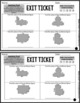 Area Exit Tickets - Differentiated Math Assessments - Area Quick Check