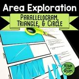Area Exploration Inquiry Lesson: Parallelogram, Triangle, Circle