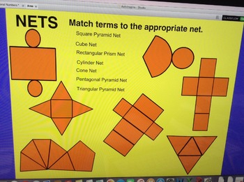 Volume and Area Flipchart - Nets and Solids